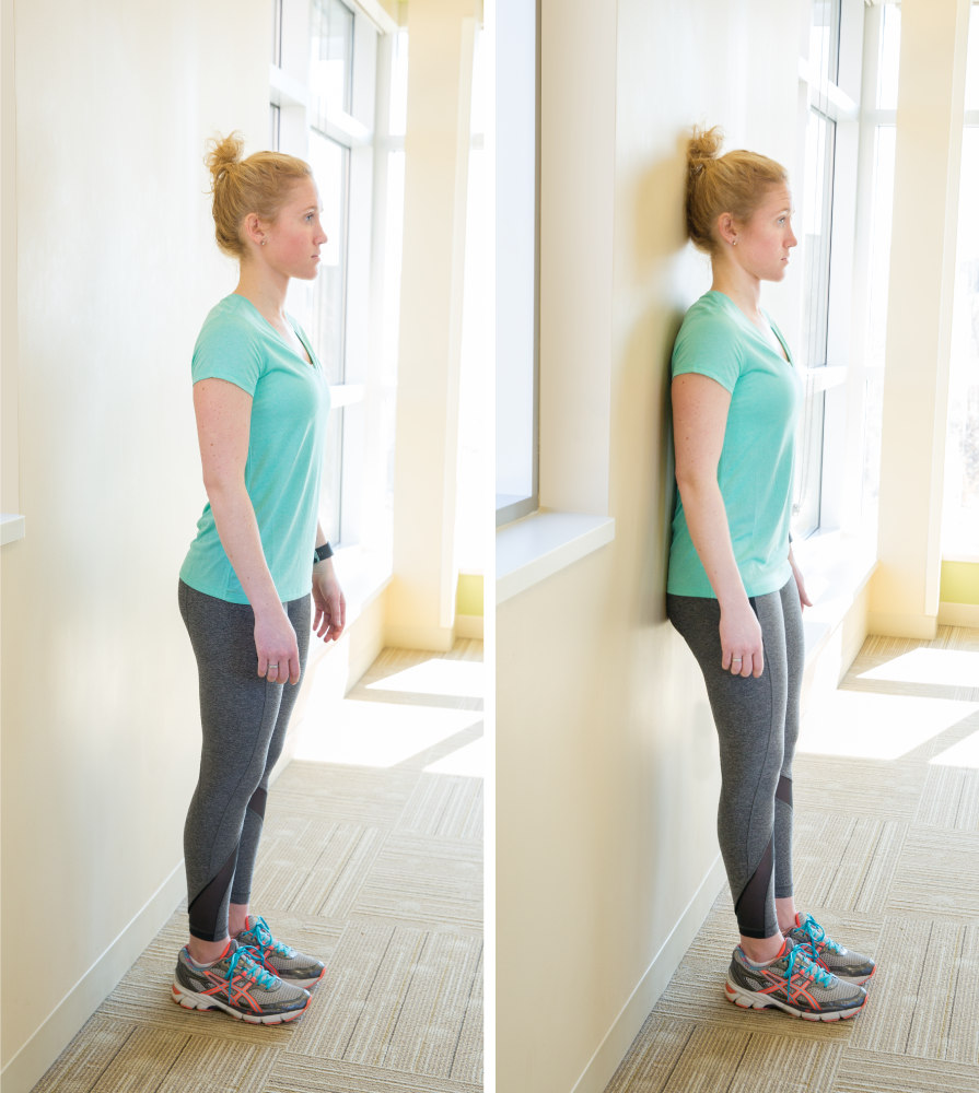 Wall Posture instructions